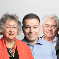 Christine Kammermeier, Uwe Harfich und Toni Ley
